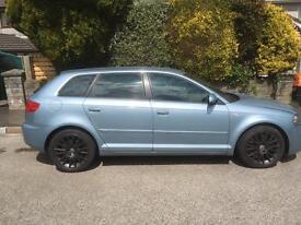 Audi A3 sline 3.2 v6 Quattro