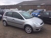 2005 FORD FIESTA DIESEL CHEAP TO TAX INSURE GOOD DRIVING ECONOMICAL HATCHBACK IN SILVER ANYTRIAL