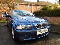 BMW 325i SE 5 speed manual 2.5 petrol.