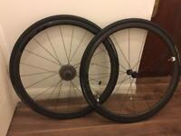 SLR Giant carbon climbing wheelset