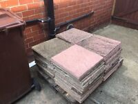 40-50 patio slabs free collection