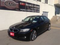 2011 BMW 328i xDrive EXECUTIVE AWD NAV LEATH ROOF PARK-SENS *CER