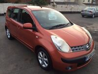 2006 Nissan Note SE 1.3 low mileage great condition