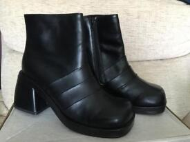 Brand new Black Ankle Boots - Size 6