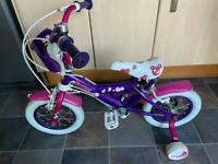 Girls bike with handle