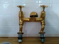 Victorian Heavyweight Brass Mixer Taps