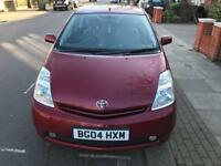 TOYOTA PRUIS 1.5 HYBRID NICE BURGUNDY COLOUR,DRIVES SUPERB,2 KEYS,2 OWNERS,1 YEAR MOT