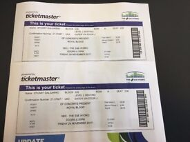 Royal Blood tickets (pair)