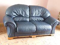 Leather Effect Sofa