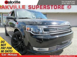 2017 Ford Flex Limited | LEATHER | PANO ROOF | NAVI | B/U CAM