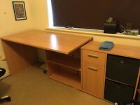 Large Modern Corner Desk - Great Condition