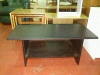 Black ash coffee table