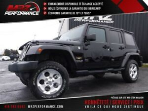 2015 Jeep Wrangler Unlimited Sahara - 4X4 - Auto - FULL - ÉTAT N