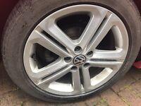 "Vw polo 16"" alloys wheels 5x100"