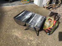 Portable Barbeque, stainless steel, brand new