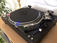 Technics SL1210M5G Turntable and New AT95E Cartridge - Boxed - Near Mint