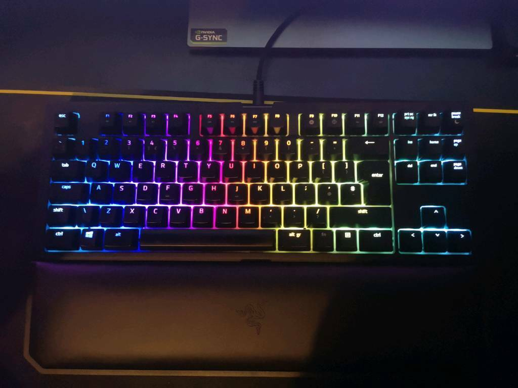 9b0c86bb3cc Razer Blackwidow - Tournament edition V2 - chroma - gaming keyboard - rgb