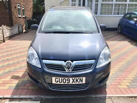 2009 Vauxhall Zafira automatic diesel excellent condition