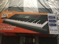 CASIO CTK 2200 WITH STAND & ACCESSORIES