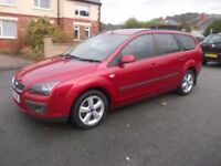 FORD FOCUS 1.8 ZETEC ESTATE