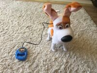 Secret life of pets my best friend max electronic toy