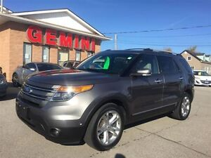 2013 Ford Explorer Limited 4wd Navi Roof Heated Wheel and Seats
