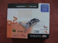 Terratec Cinergy S2 HD PC Personal Video Recorder card
