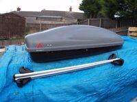 Aluminium Roof Bars & 330L Box