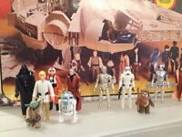 Wanted - Collector looking for Star Wars figures, ships and toys - Cash Paid.
