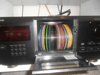 very rare sony 200 cd player NEW PRICE
