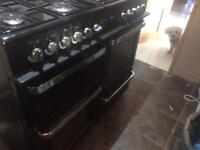 Flavel range cooker .