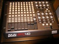 Akai APC40 Ableton Controller Good condition for home and DJ Use ..
