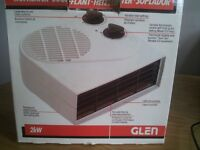 Electric Fan Heater - 2 kw (with box)