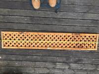 Garden trellis 6ft in length - 6 pieces