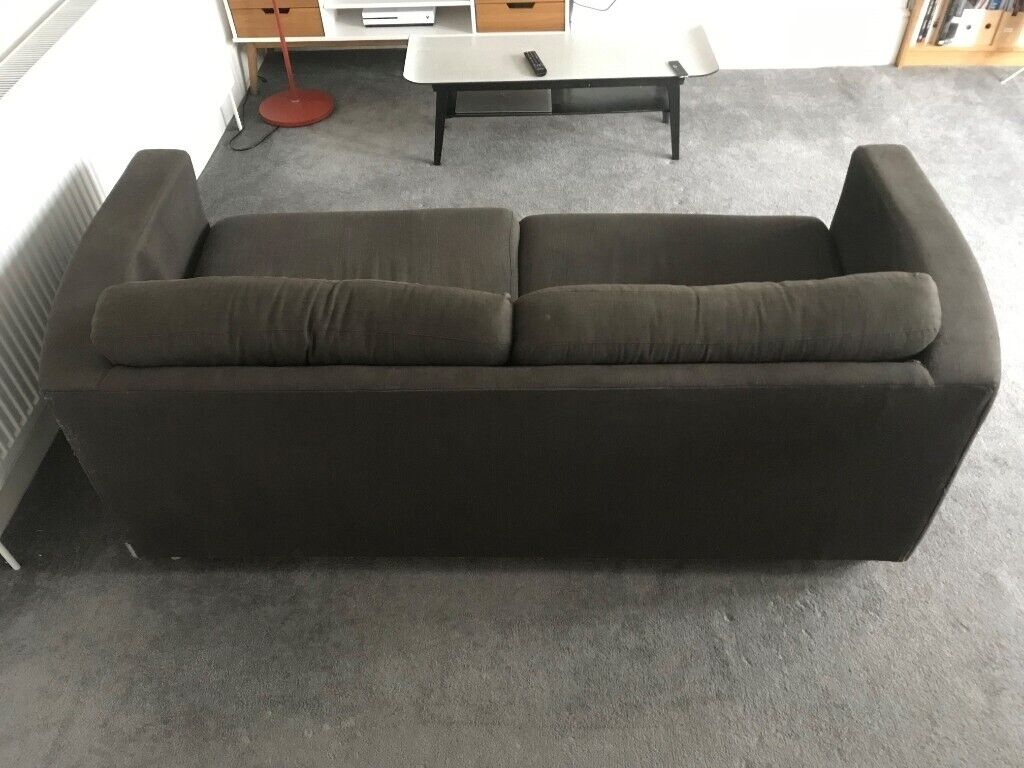 Incredible Grey 2 Seater Habitat Sofa Bed In Leytonstone London Gumtree Caraccident5 Cool Chair Designs And Ideas Caraccident5Info