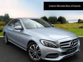 Mercedes-Benz C Class C220 BLUETEC SPORT (silver) 2014-09-01