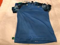 Adidas men's medium blue climacool T-shirt