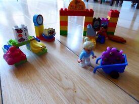 Lego Duplo - Box 5506 & My First Supermarket & Baby Zoo