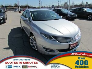 2014 Lincoln MKZ LEATHER   SUNROOF   NAVIGATION