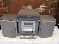 Panasonic CD player, Radio, Aux