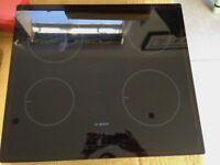 Bosch Serie | 4 4 zone ceramic induction hob black glass