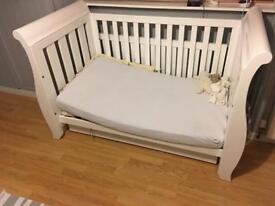 Urgent! Boori Sleigh cotbed in White