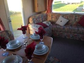 Caravan to rent on the NORTH EAST COAST OF ENGLAND, NEWBIGGIN BY THE SEA, NORTHUMBERLAND