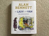 The Lady in the Van The Complete Edition by Alan Bennett Hardback Book NEW