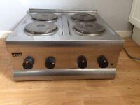 Lincat catering four ring hobb 240v