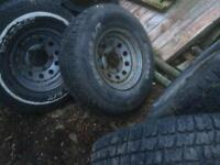 Land Rover wheels with Wild Cat tyres