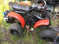 Suzuki quad 125 of road