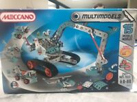 Meccano 15 model set unopened