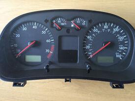 VW Golf Mk4 / Bora VDO Clocks - Petrol - 1J0 920 926 A - MILES TO EMPTY ACTIVATED