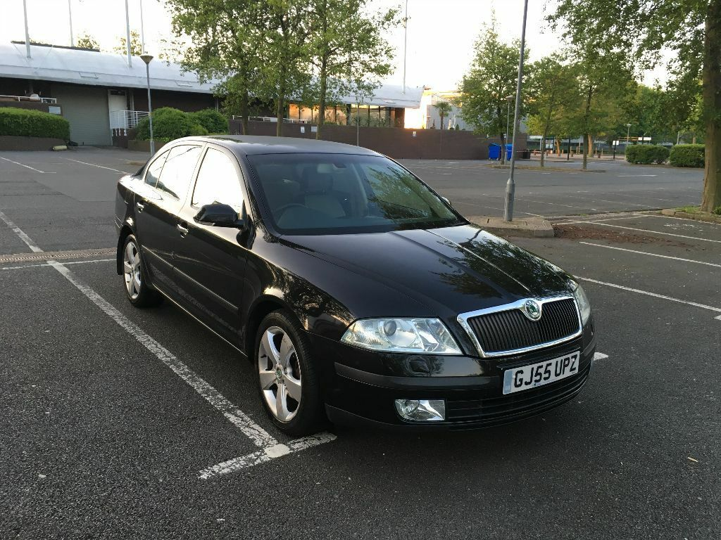 skoda octavia ii 2005 55 reg 1 9 tdi pd elegance 5dr diesel automatic dsg in enfield london. Black Bedroom Furniture Sets. Home Design Ideas